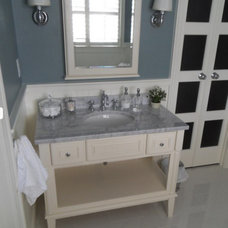 Beach Style Bathroom by Portofino Tile and Bathroom Remodeling Center