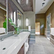Contemporary Bathroom by Six Walls Interior Design