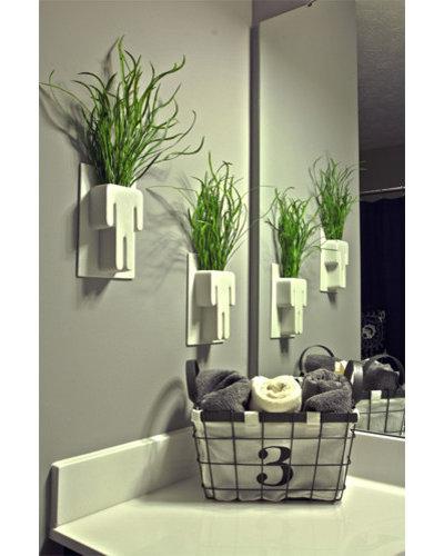 Eclectic Bathroom by Nest Designs LLC