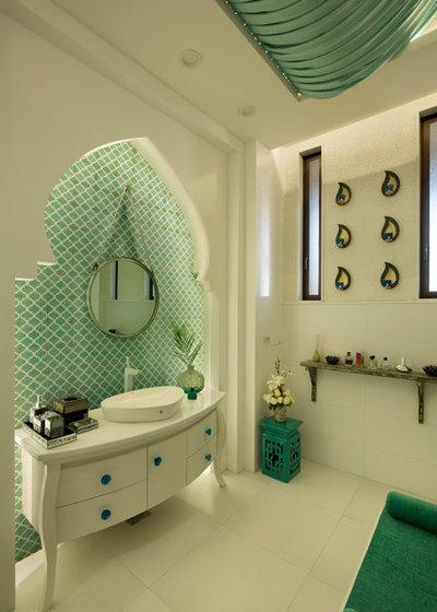 Mediterranean Bathroom by Ace Associates