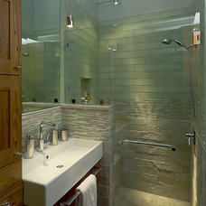 Modern Bathroom by Adler Design Build