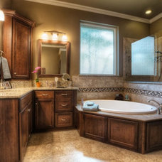 Contemporary Bathroom by Curb Appeal Renovations