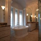 Tuscan Powder Mediterranean Bathroom Orange County