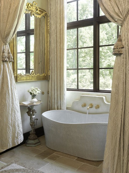 Traditional Bathroom by Amy Studebaker Design