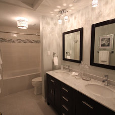 Contemporary Bathroom by Archwood Construction