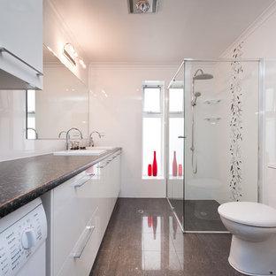 Small Bathroom Laundry Room Combo Ideas Houzz