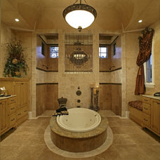 Mediterranean Bathroom by Kamenoff and Associates, Inc.