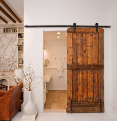 eclectic bathroom by The Brooklyn Home Company