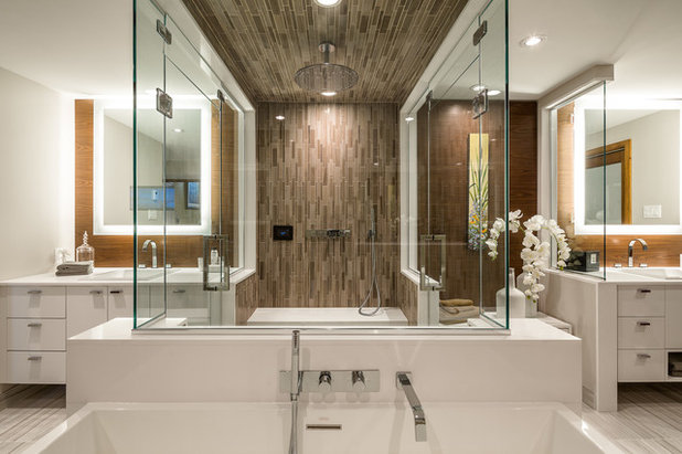 Contemporary Bathroom by Astro Design Centre