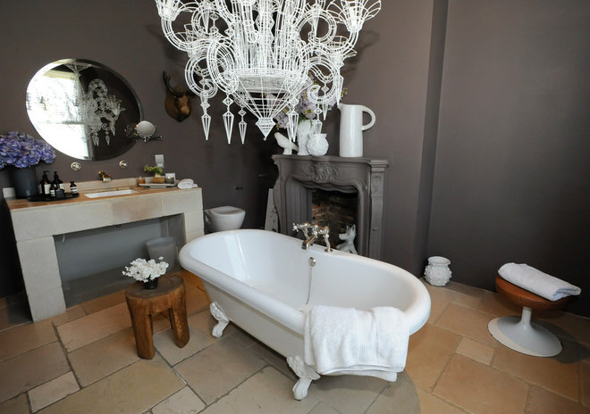 eclectic bathroom by Beccy Smart Photography