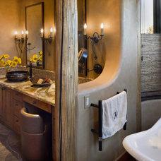Southwestern Bathroom by Bess Jones Interiors