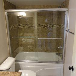 Oklahoma City Traditional Backsplash Bathroom Design Ideas Pictures Remodel And Decor
