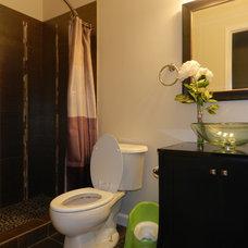 Modern Bathroom by Black Rock Interiors