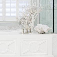 Beach Style Bathroom by Bliss Design Firm