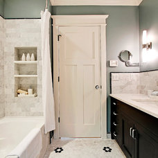 Craftsman Bathroom by BLUE CANYON CONSTRUCTION