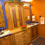 Mexican cantina eclectic bathroom denver by jh for Bathroom designs for 7x4