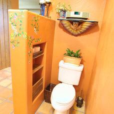 Mediterranean Bathroom by MCCALEB CONSTRUCTION INC