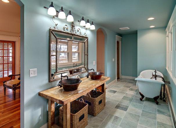 Traditional Bathroom by Brekke Construction Inc.