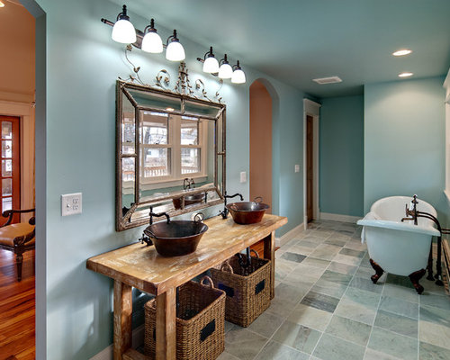 Unique Bathroom Mirrors Houzz: unique bathrooms