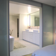 modern bathroom by Brownwork