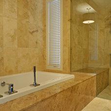 Contemporary Bathroom by Bruce Johnson & Associates Interior Design