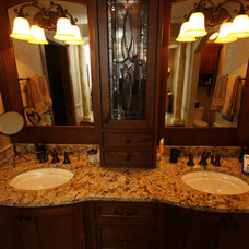 Traditional Bathroom by Burback Builders Custom Homes & Remodeling