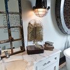 St Alban Vanity Burlington Eclectic Bathroom
