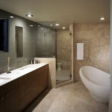 Modern Bathroom by OTM Designs & Remodeling Inc.