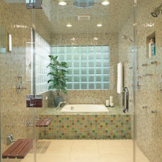 Contemporary Bathroom by Tim Englert Construction, Inc.