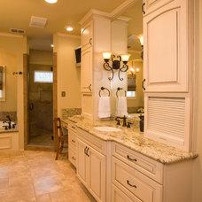 Traditional Bathroom by Bobo Custom Builders