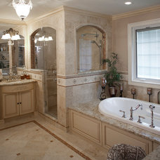 Traditional Bathroom by Design Line Kitchens