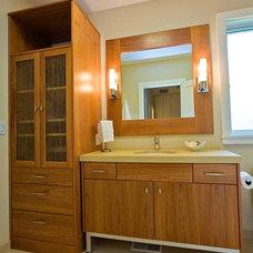 Modern Bathroom by Bill Fry Construction - Wm. H. Fry Const. Co.
