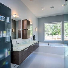 Contemporary Bathroom by European Cabinets & Design Studios