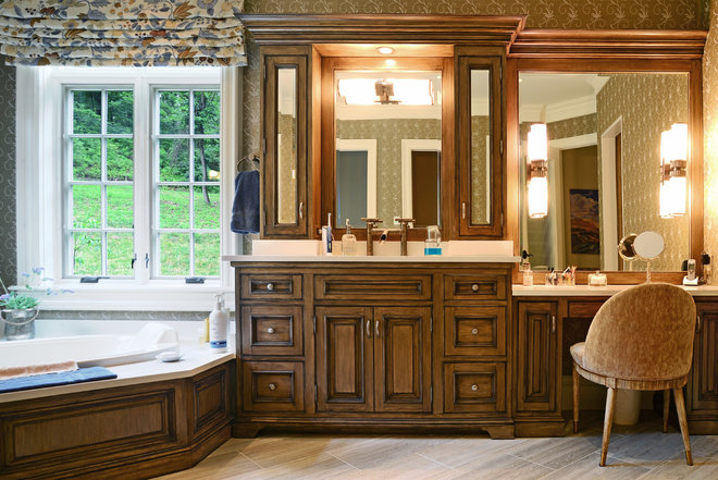 Traditional Bathroom by StyleCraft Cabinets