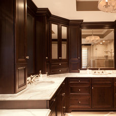 Traditional Bathroom by Plain & Fancy Custom Cabinetry