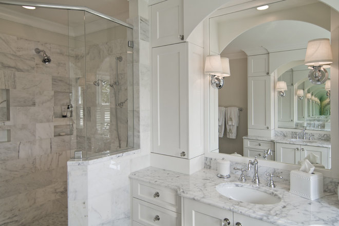 Traditional Bathroom by Carolina Design Associates, LLC