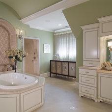 Contemporary Bathroom by Carolina Design Associates, LLC