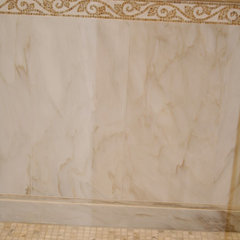 traditional bathroom by Casatelli Marble