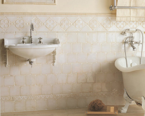 5x5 ceramic tile bathroom design ideas renovations photos for Bathroom ideas 5x5