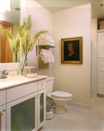 Eclectic Bathroom by Nichols Design Studios