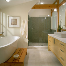 Contemporary Bathroom by Choice Wood Company