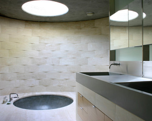 Circular Bathtub Home Design Ideas Pictures Remodel And