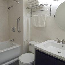 Eclectic Bathroom by Fitzgerald Studio