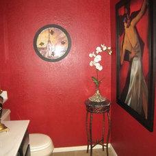 Contemporary Bathroom by LB Interiors