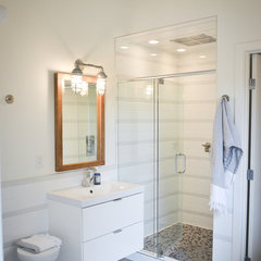 modern bathroom by Copper Brook Homes