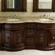 Traditional Bathroom by All Granite and Marble Corp.