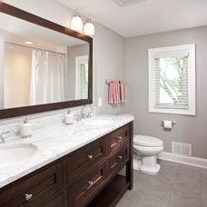Contemporary Bathroom by CRE Construction