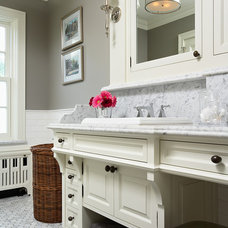 Traditional Bathroom by Creative Lighting