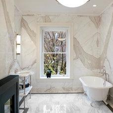 Modern Bathroom by CUMAR Marble and Granite