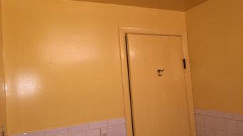 Bathroom Custom Painting